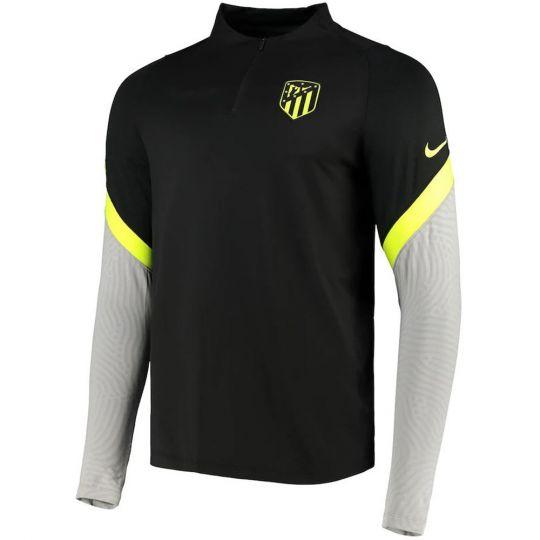 Nike Atletico Madrid Dry Strike Trainingstrui 2020-2021 Zwart