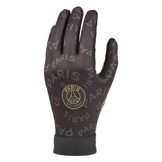 Nike Paris Saint Germain x Jordan Hyperwarm Handschoenen Zwart Antraciet