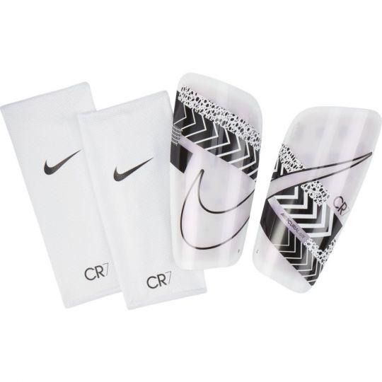 Nike CR7 Mercurial Lite Scheenbeschermers Wit Zwart