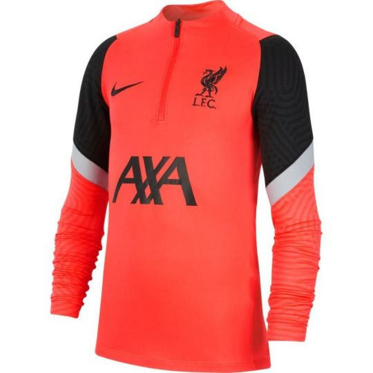 Nike Liverpool Dry Strike Trainingstrui CL 2020-2021 Rood