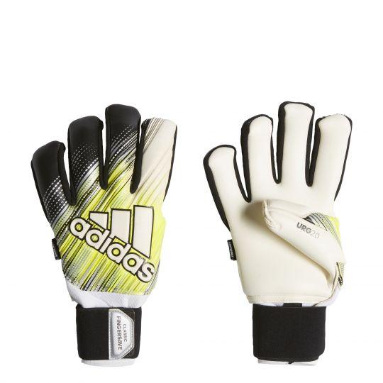 adidas CLASSIC PRO FS Keepershandschoenen Zwart Geel