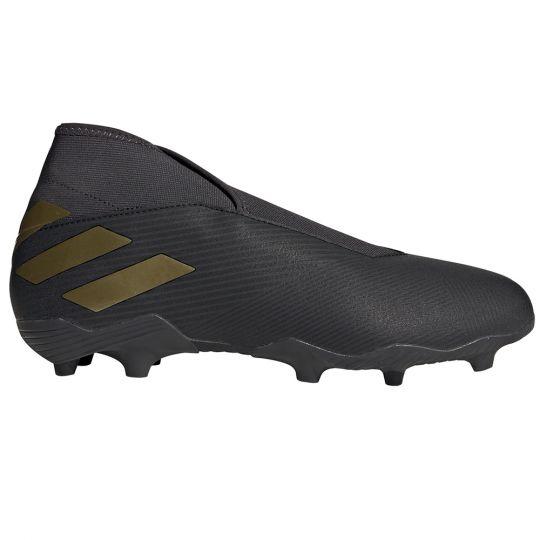 adidas NEMEZIZ 19.3 LL Gras Voetbalschoenen (FG) Zwart Goud Metallic