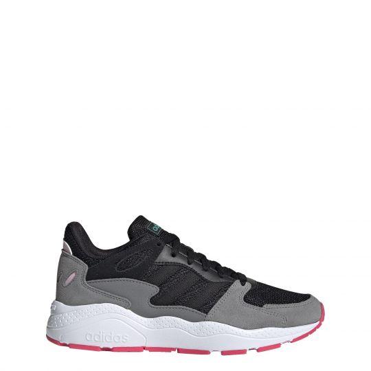 adidas Crazychaos Sneaker Dames Zwart Grijs Wit Roze
