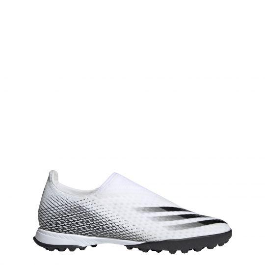 adidas X Ghosted.3 LL Turf Voetbalschoenen (TF) Wit Zwart