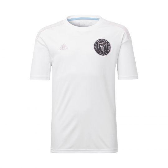 adidas Inter Miami CF Thuisshirt 2020-2021 Kids Wit Lichtroze Zwart
