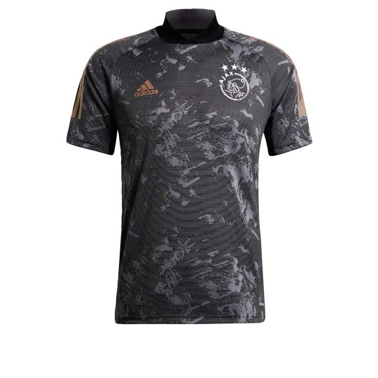 adidas Ajax Europees Trainingsshirt 2020-2021 Zwart
