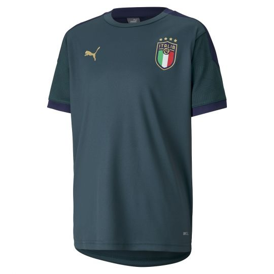 PUMA Italie Trainingsshirt 2020-2021 Kids Groen