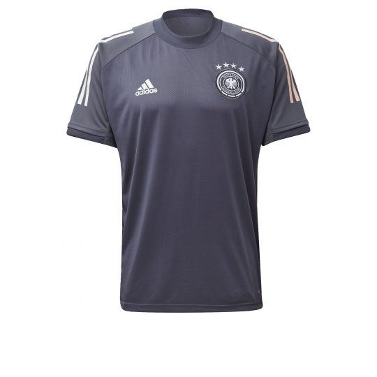 adidas Duitsland Trainingsshirt 2020-2021 Grijs
