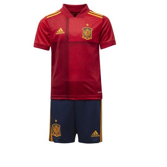 adidas Spanje Mini-Thuistenue 2020-2021 Rood Geel
