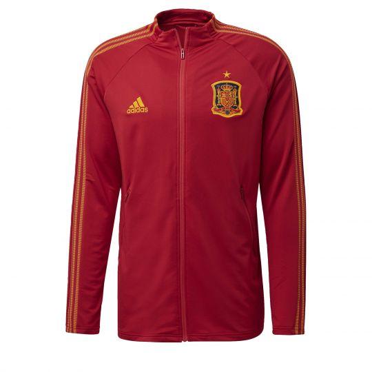 adidas Spanje Anthem Trainingsjack Rood Geel