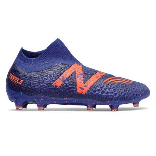 New Balance Tekela V3 Pro Gras Voetbalschoenen (FG) Cobaltblauw Oranje