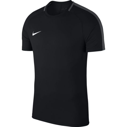 Nike Dry Academy18 Trainingsshirt Black Anthractie White