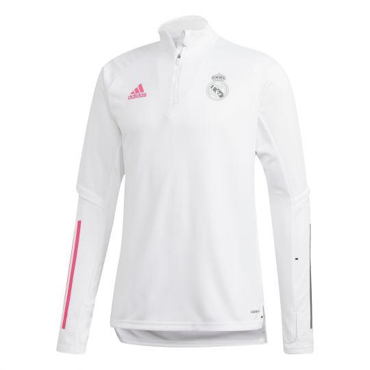 adidas Real Madrid Trainingstrui 2020-2021 Wit