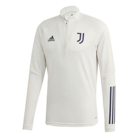 adidas Juventus Trainingstrui 2020-2021 Lichtgrijs Donkerblauw
