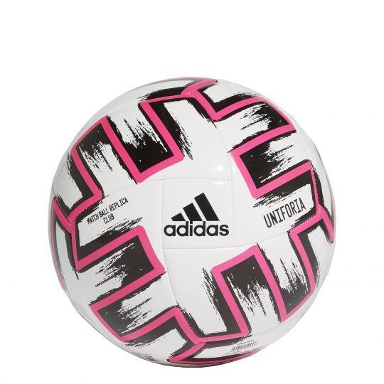adidas Uniforia Club Voetbal Wit Zwart Roze