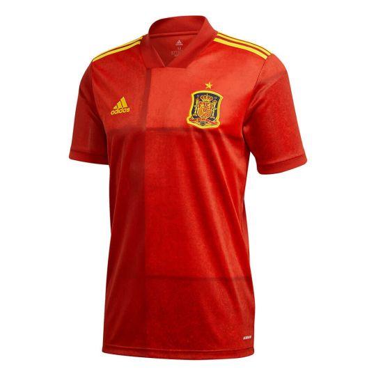 adidas Spanje Thuisshirt 2020-2021 Rood Geel