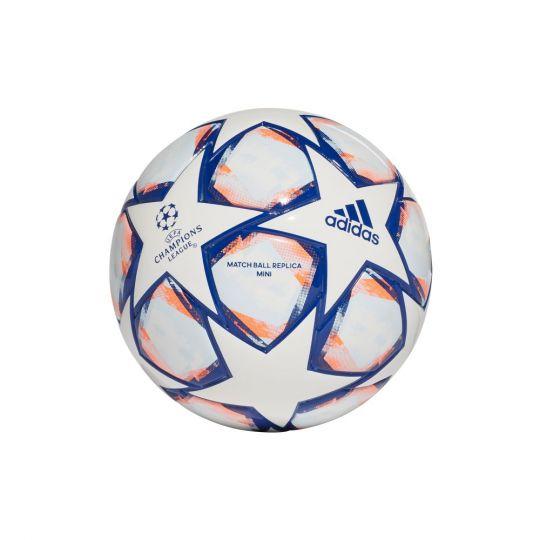 adidas Finale 20 Voetbal Mini Voetbal Wit Blauw Oranje