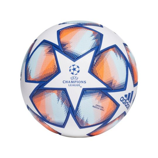 adidas Finale 20 Voetbal Champions league Wit Blauw Oranje