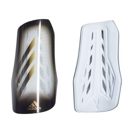 adidas X Scheenbeschermers League Wit Zwart Goud