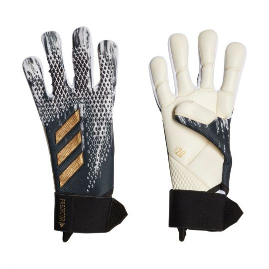 adidas PREDATOR Keepershandschoenen Competition Zwart Wit Goud