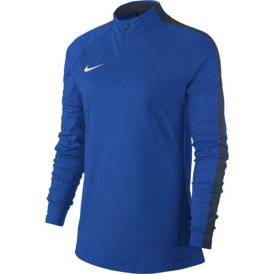 Nike Vrouwen Dry Academy 18 Drill Trainingstrui Royal Blue