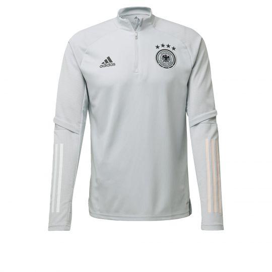 adidas Duitsland Trainingstrui 2020-2021 Grijs Zwart