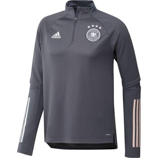 adidas Duitsland Drill Trainingstrui 2020-2021 Grijs Wit