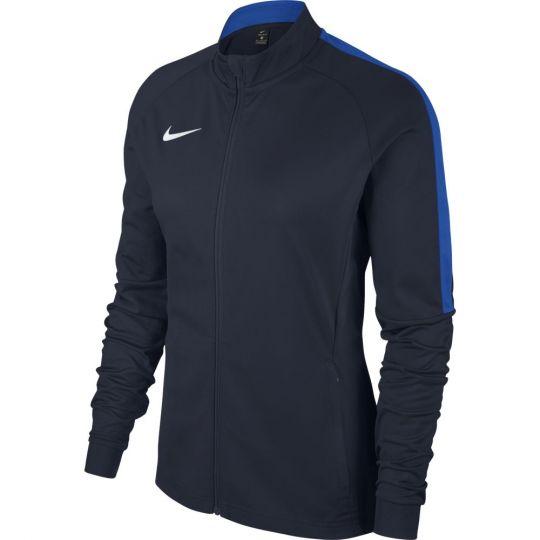 Nike Vrouwen Dry Academy 18 Trainingsjack Donkerblauw