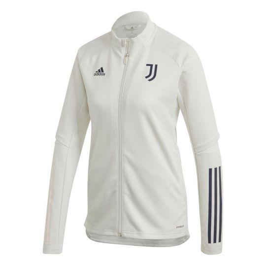 adidas Juventus Trainingsjack 2020-2021 Vrouwen Lichtgrijs Donkerblauw