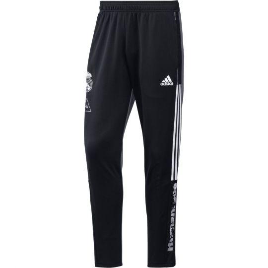 adidas Real Madrid HUFC Trainingsbroek 2020-2021 Zwart Grijs