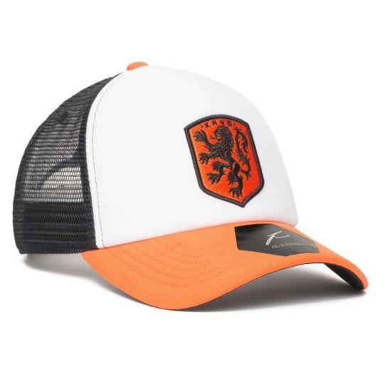 KNVB Trucker Cap Oranje Wit Zwart