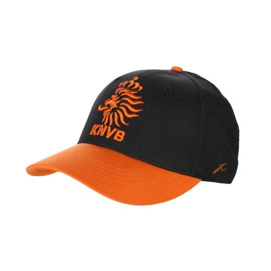 KNVB Cap Black Orange