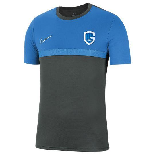 Nike KRC Genk Trainingsshirt 2020-2021 Senior Donkergrijs Blauw