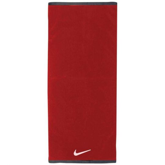 Nike Fundamental Handdoek Large Rood Wit