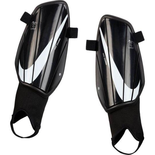 Nike Charge Scheenbeschermers Zwart Zwart Wit