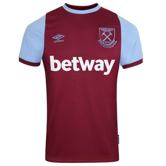 UMBRO West Ham United Thuisshirt 2020-2021