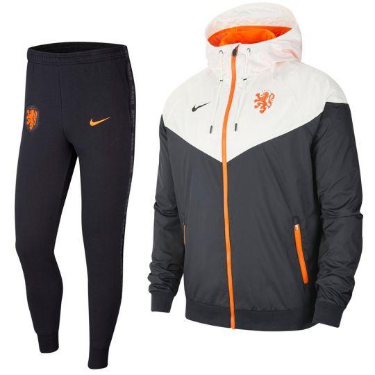 Nike Nederland Windrunner Trainingspak 2020-2022 Zwart