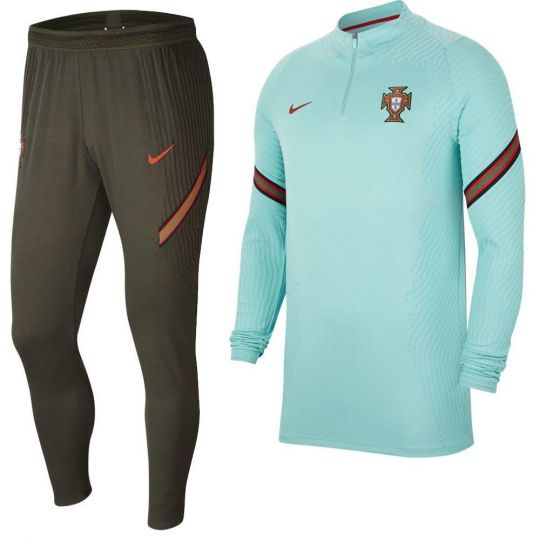 Nike Portugal VaporKnit Strike Trainingspak 2020-2022 Groen