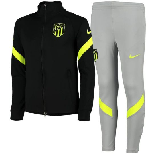 Nike Atletico Madrid Dry Strike Trainingspak CL 2020-2021 Zwart