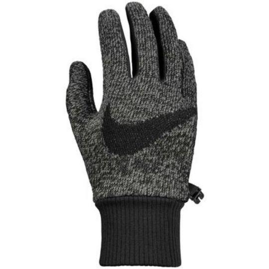 Nike Hyperstorm Knit Handschoenen Grijs Gemeleerd Zwart