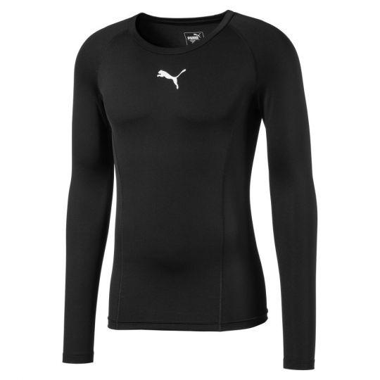 PUMA Liga Baselayer LS Shirt Zwart