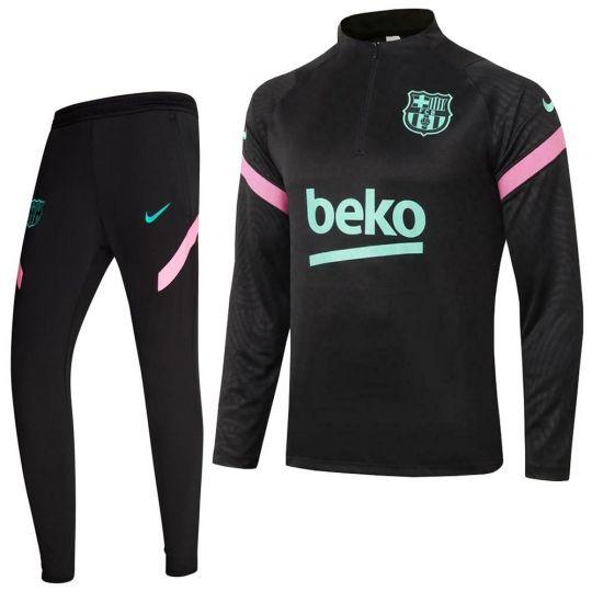 Nike FC Barcelona Strike Trainingspak 20-21 CL Zwart Roze