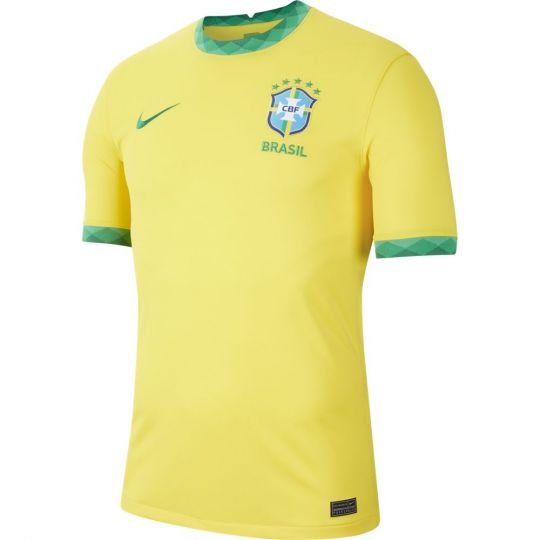 Nike Brazilie Thuisshirt 2020-2021 Kids