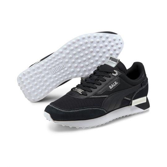 PUMA Future Rider BALR Sneaker Metallic Zilver Zwart