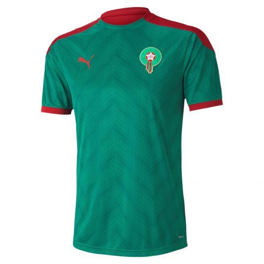 PUMA Marokko Stadium Trainingsshirt 2020-2021 Groen Rood