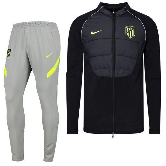 Nike Atletico Madrid Therma Strike Trainingspak 2020-2021 CL Zwart