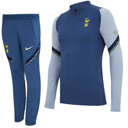 Nike Tottenham Hotspur Dry Strike Trainingspak CL 2020-2021 Blauw