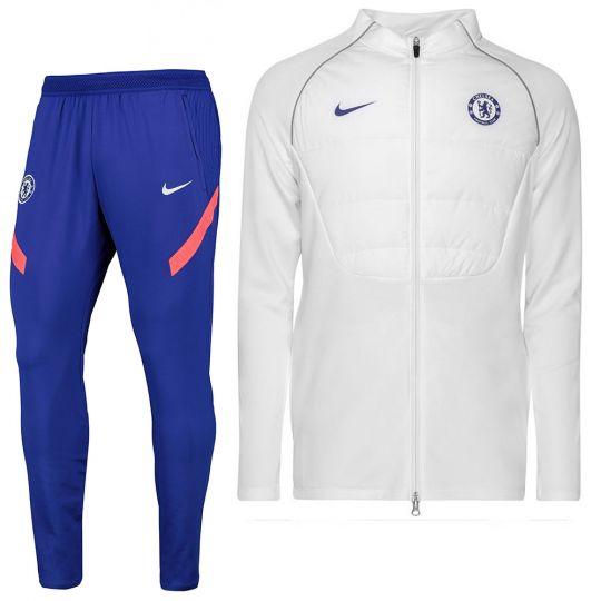 Nike Chelsea Therma Strike Trainingspak 2020-2021 CL Wit