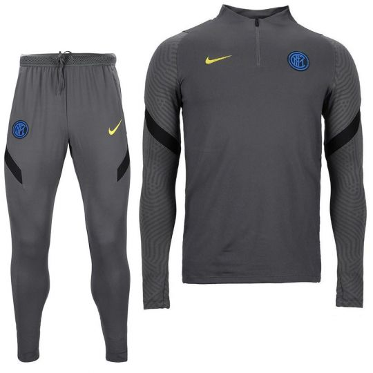 Nike Inter Milan Dry Strike Drill Trainingspak 2020-2021 Grijs