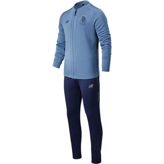 New Balance FC Porto travel Trainingspak 2020-2021 Grijsblauw Donkerblauw